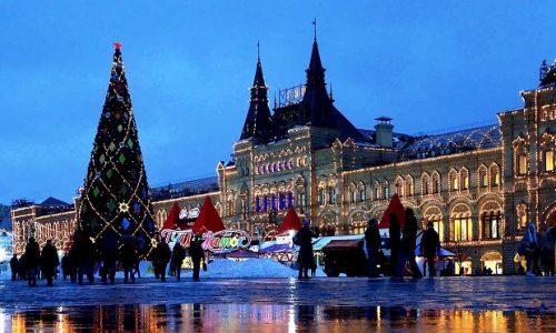 Москва декабрь 2018