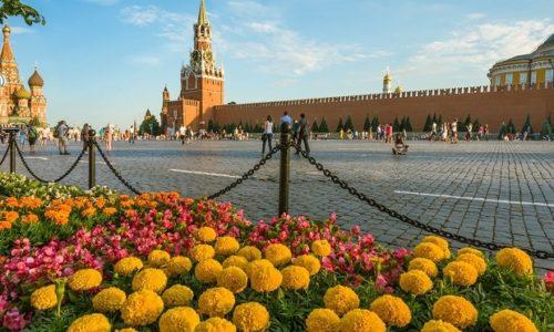 Москва август 2019