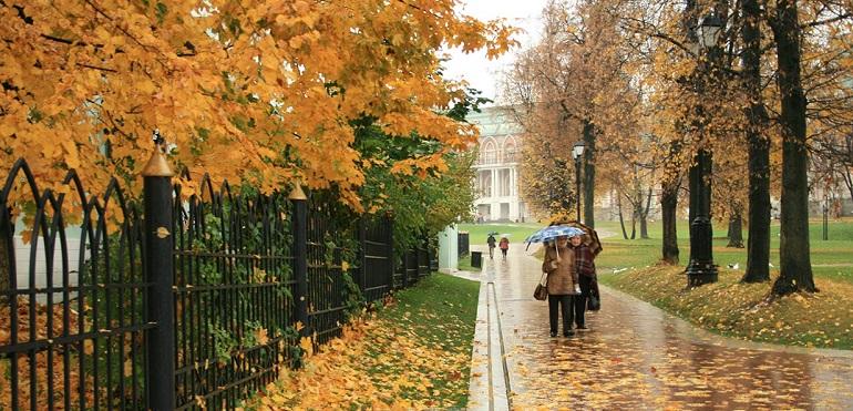 Москва ноябрь 2019