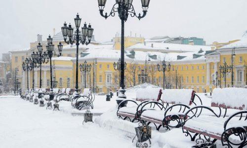 Москва февраль 2020