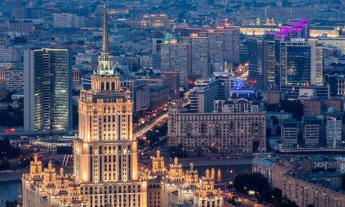 Москва август 2018