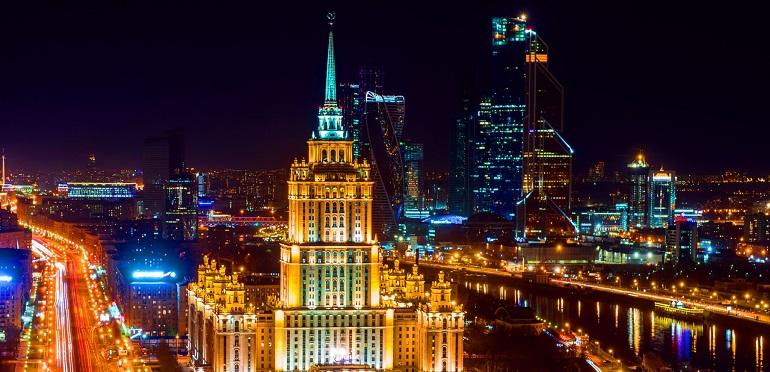 Москва октябрь 2019